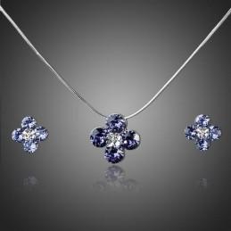 Parure ornée de cristaux SWAROVSKI ELEMENTS