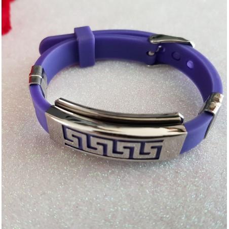 Bracelet Acier Inoxydable Violet