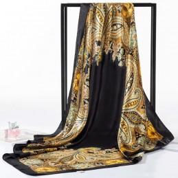 Foulard Style Carré De Soie...